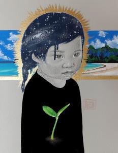 seeds series art for fundraising by Sara Drescher