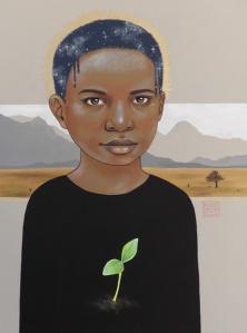 painting for a cause by artist Sara Drescher