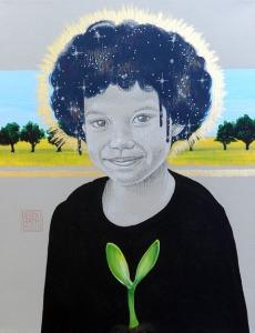 seed series art for fundraising by Sara Drescher