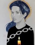 art for fundraising by artist Sara Drescher