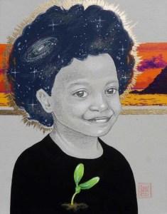 art to raise money for children in poverty by artist Sara Drescher